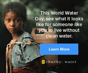 Charity Water Ads