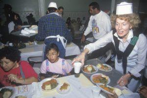 Homeless Shelter Volunteer