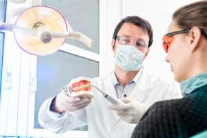 patient gets free dental cleaning