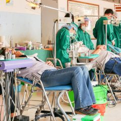 Work and experience as a dental volunteer