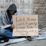 The things homeless people need are healthcare, food and shelter