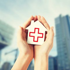 Who is eligible for charity home health services?
