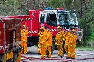 fire and rescue in Australia
