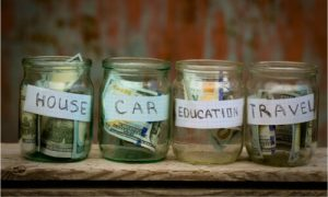 goals to save money